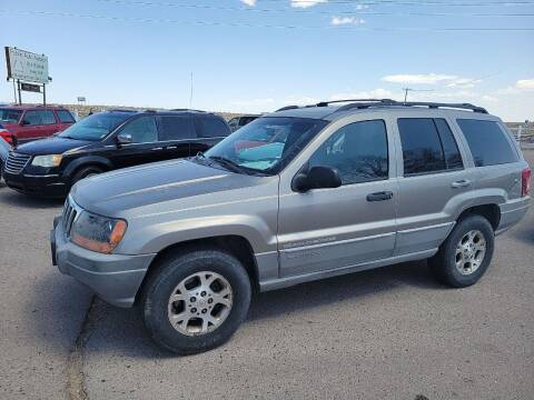 1999 Jeep Grand Cherokee for sale at PYRAMID MOTORS in Fountain CO
