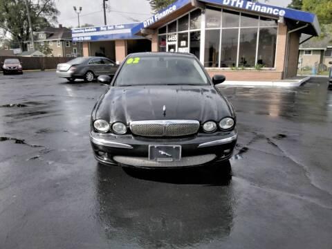 2002 Jaguar X-Type for sale at DTH FINANCE LLC in Toledo OH