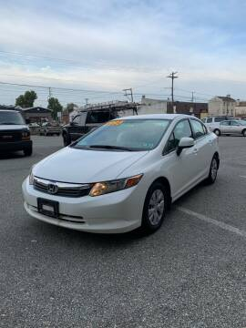2012 Honda Civic for sale at ARS Affordable Auto in Norristown PA