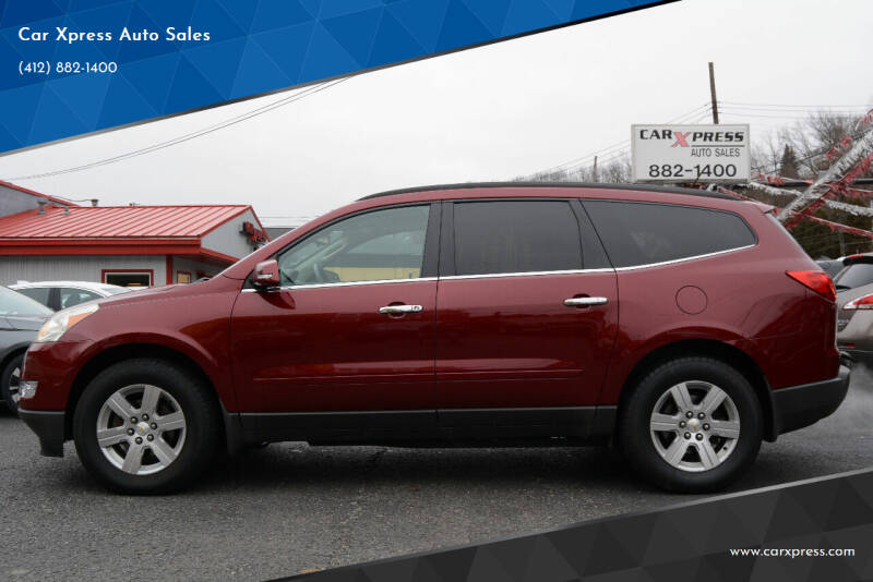 2011 Chevrolet Traverse for sale at Car Xpress Auto Sales in Pittsburgh PA