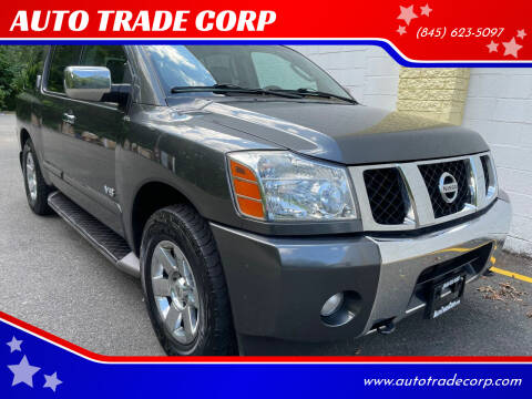2007 Nissan Armada for sale at AUTO TRADE CORP in Nanuet NY