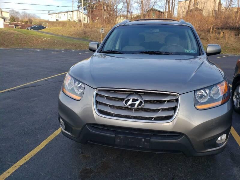 2011 Hyundai Santa Fe for sale at KANE AUTO SALES in Greensburg PA