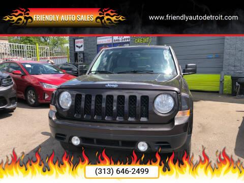 2014 Jeep Patriot for sale at Friendly Auto Sales in Detroit MI