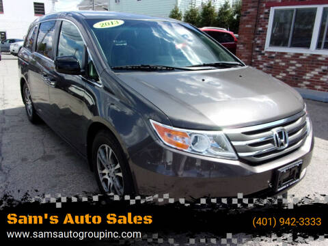 2013 Honda Odyssey for sale at Sam's Auto Sales in Cranston RI