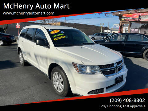 2017 Dodge Journey for sale at McHenry Auto Mart in Turlock CA