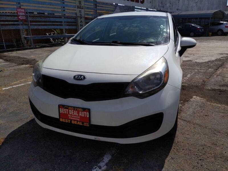 2014 Kia Rio for sale at Best Deal Auto Sales in Stockton CA