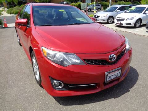 2014 Toyota Camry for sale at NorCal Auto Mart in Vacaville CA