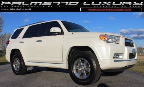 2010 Toyota 4Runner for sale at Palmetto Luxury Cars in Florence SC