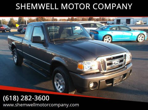 2011 Ford Ranger for sale at SHEMWELL MOTOR COMPANY in Red Bud IL