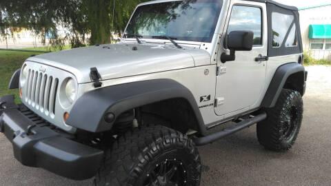 2007 Jeep Wrangler for sale at Haigler Motors Inc in Tyler TX