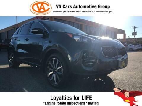 2017 Kia Sportage for sale at VA Cars Inc in Richmond VA