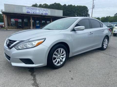 2016 Nissan Altima for sale at Greenbrier Auto Sales in Greenbrier AR