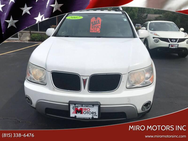 2007 Pontiac Torrent for sale at Miro Motors INC in Woodstock IL
