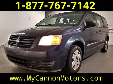 2008 Dodge Grand Caravan for sale at Cannon Motors in Silverdale PA