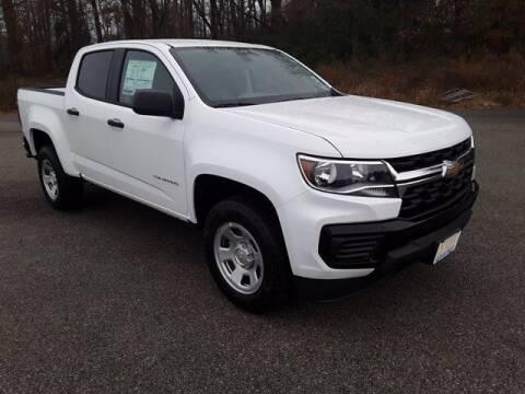 2021 Chevrolet Colorado for sale at Strosnider Chevrolet in Hopewell VA