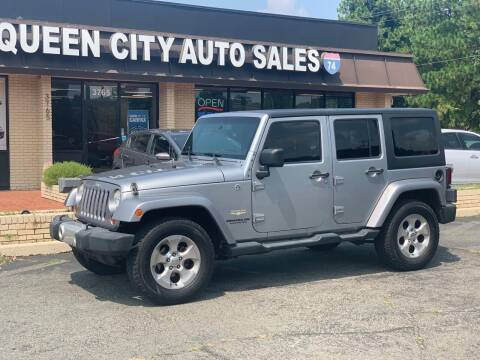 2013 Jeep Wrangler Unlimited for sale at Queen City Auto Sales in Charlotte NC