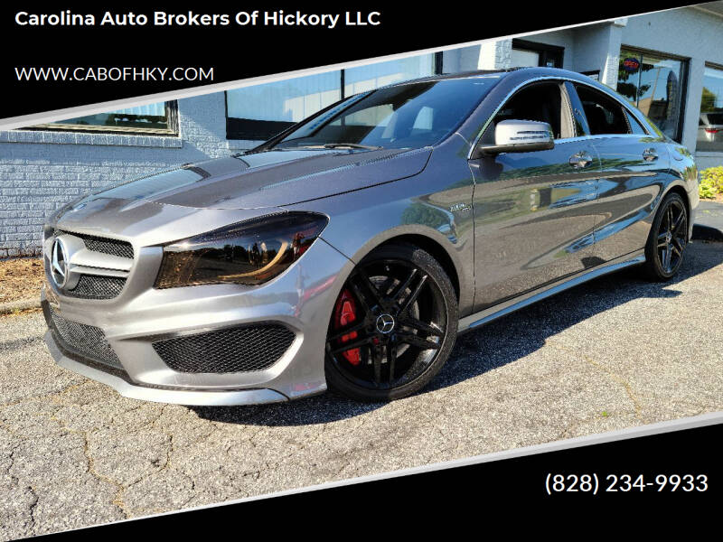 2014 Mercedes-Benz CLA for sale at Carolina Auto Brokers of Hickory LLC in Newton NC