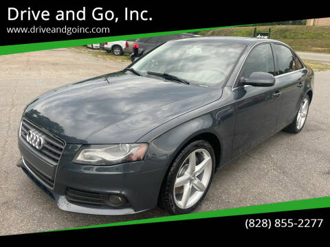 2011 Audi A4 for sale at Drive and Go, Inc. in Hickory NC