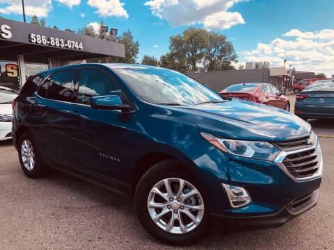 2020 Chevrolet Equinox for sale at Daniel Auto Sales inc in Clinton Township MI