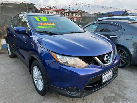 2018 Nissan Rogue Sport for sale at CAR GENERATION CENTER, INC. in Los Angeles CA
