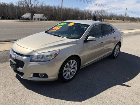 2015 Chevrolet Malibu for sale at Nextgen Auto Inc in Smithville TN