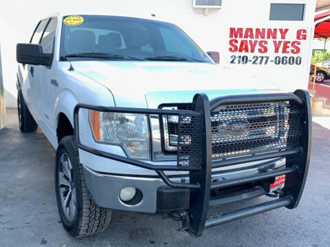 2013 Ford F-150 for sale at Manny G Motors 2 in San Antonio TX