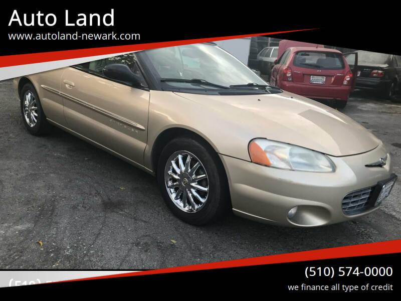 2001 Chrysler Sebring for sale at Auto Land in Newark CA