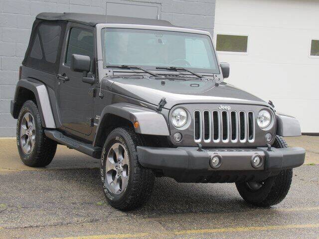 2016 Jeep Wrangler for sale at K&M Wayland Chrysler  Dodge Jeep Ram in Wayland MI