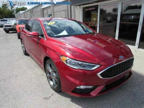 2017 Ford Fusion for sale at TWIN RIVERS CHRYSLER JEEP DODGE RAM in Beatrice NE