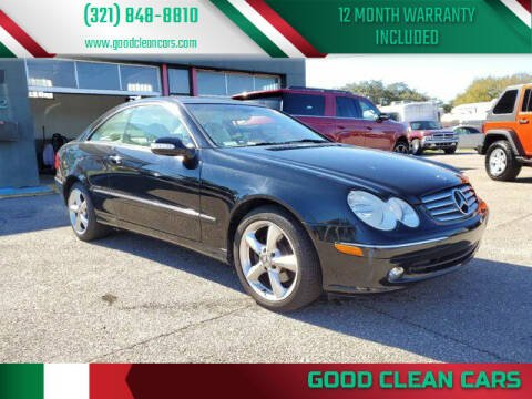 2004 Mercedes-Benz CLK for sale at Good Clean Cars in Melbourne FL