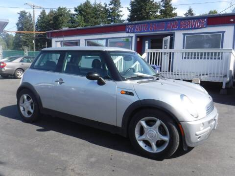 2004 MINI Cooper for sale at 777 Auto Sales and Service in Tacoma WA