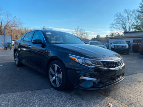 2019 Kia Optima for sale at Royal Crest Motors in Haverhill MA