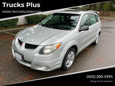 2004 Pontiac Vibe for sale at Trucks Plus in Seattle WA