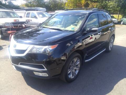 2012 Acura MDX for sale at Wilson Investments LLC in Ewing NJ
