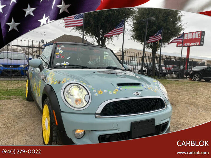 2014 MINI Convertible for sale at CARBLOK in Lewisville TX