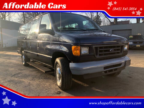 2004 Ford E-Series Wagon for sale at Affordable Cars in Kingston NY