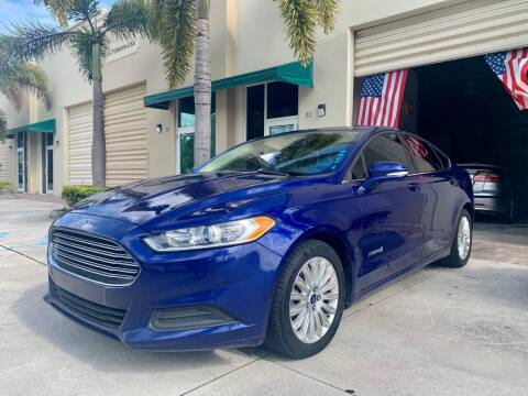 2014 Ford Fusion Hybrid for sale at AUTOSPORT MOTORS in Lake Park FL