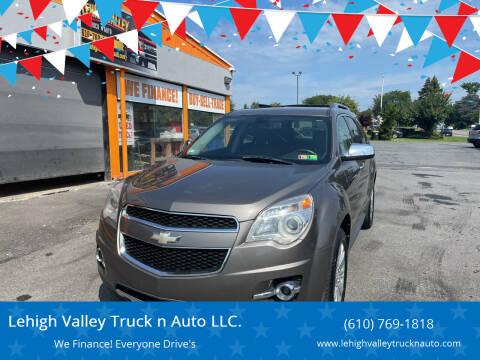 2011 Chevrolet Equinox for sale at Lehigh Valley Truck n Auto LLC. in Schnecksville PA