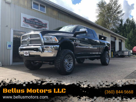 2013 RAM Ram Pickup 3500 for sale at Bellus Motors LLC in Camas WA