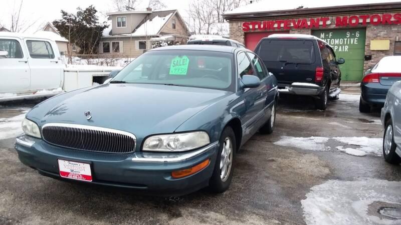2000 Buick Park Avenue for sale at Fraziers Sturtevant Motors in Sturtevant WI