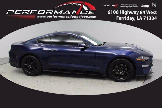 2019 Ford Mustang for sale at Auto Group South - Performance Dodge Chrysler Jeep in Ferriday LA