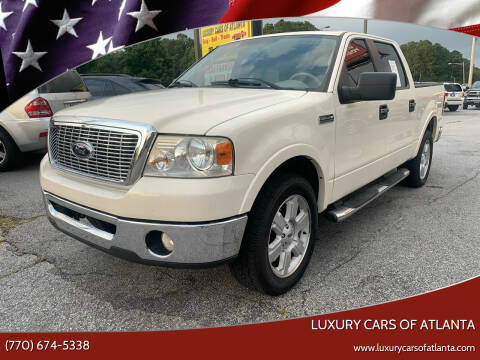 2008 Ford F-150 for sale at Luxury Cars of Atlanta in Snellville GA