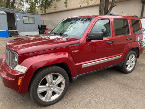 2012 Jeep Liberty for sale at GO GREEN MOTORS in Lakewood CO
