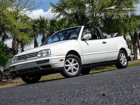 1996 Volkswagen Cabrio for sale at SURVIVOR CLASSIC CAR SERVICES in Palmetto FL