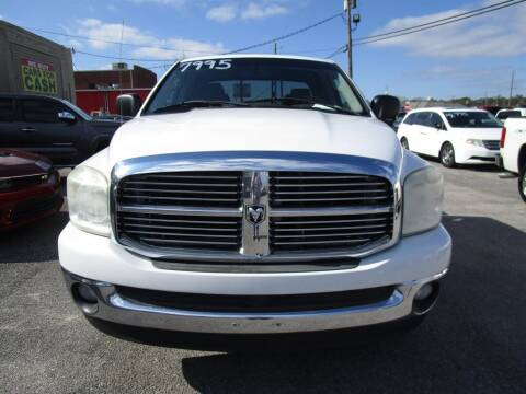 2008 Dodge Ram Pickup 1500 for sale at DERIK HARE in Milton FL