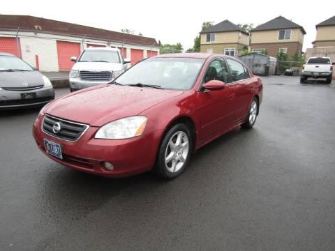 2003 Nissan Altima for sale at ARISTA CAR COMPANY LLC in Portland OR