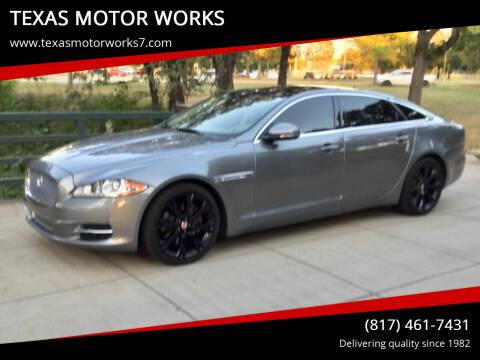 2015 Jaguar XJL for sale at TEXAS MOTOR WORKS in Arlington TX