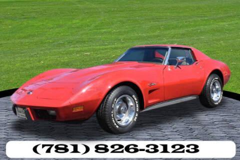 1976 Chevrolet Corvette for sale at AUTO ETC. in Hanover MA