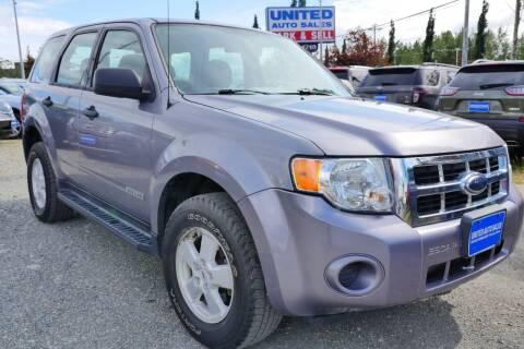 2008 Ford Escape for sale at United Auto Sales in Anchorage AK