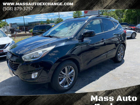 2015 Hyundai Tucson for sale at Mass Auto Exchange in Framingham MA